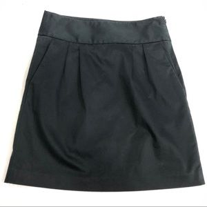 Banana Republic Black A Line pleated skirt size 0